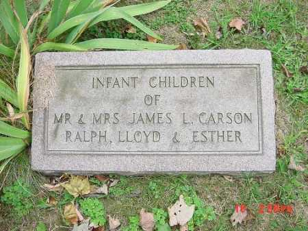 CARSON, LLOYD - Carroll County, Ohio | LLOYD CARSON - Ohio Gravestone Photos