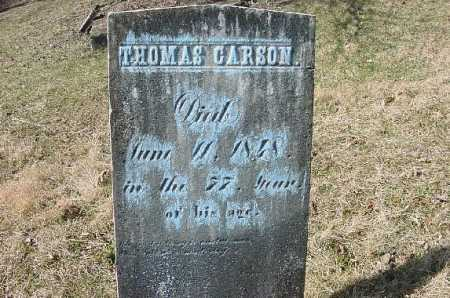 CARSON, THOMAS - Carroll County, Ohio | THOMAS CARSON - Ohio Gravestone Photos