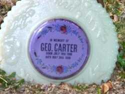CARTER, GEORGE - Carroll County, Ohio | GEORGE CARTER - Ohio Gravestone Photos