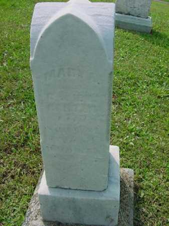 CARTER, MARY A. - Carroll County, Ohio | MARY A. CARTER - Ohio Gravestone Photos