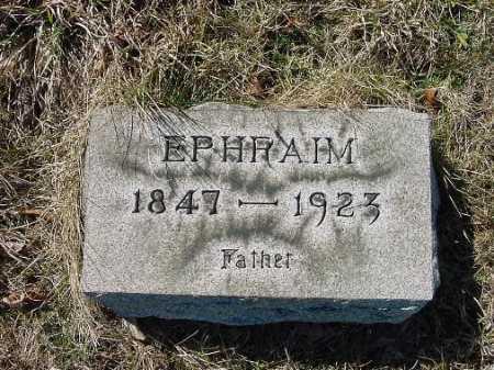 CATTRELL, EPHRAIM - Carroll County, Ohio   EPHRAIM CATTRELL - Ohio Gravestone Photos