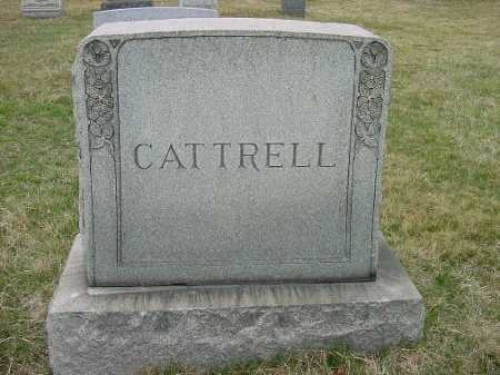 CATTRELL, MONUMENT - Carroll County, Ohio | MONUMENT CATTRELL - Ohio Gravestone Photos