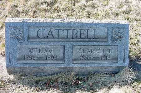 CATTRELL, WILLIAM - Carroll County, Ohio | WILLIAM CATTRELL - Ohio Gravestone Photos