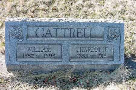 CATTRELL, CHARLOTTE - Carroll County, Ohio | CHARLOTTE CATTRELL - Ohio Gravestone Photos
