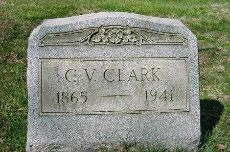 CLARK, C. V. - Carroll County, Ohio | C. V. CLARK - Ohio Gravestone Photos