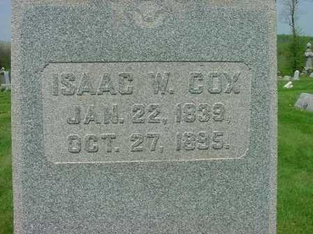 COX, ISAAC W. - Carroll County, Ohio | ISAAC W. COX - Ohio Gravestone Photos