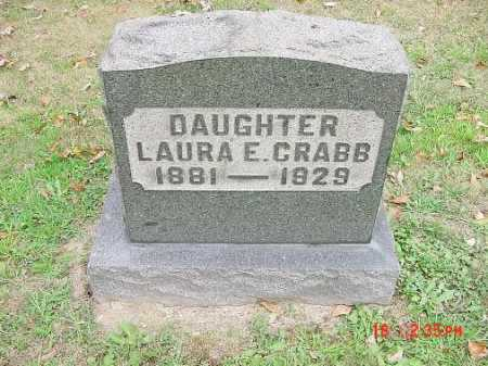 CRABB, LAURA E. - Carroll County, Ohio | LAURA E. CRABB - Ohio Gravestone Photos