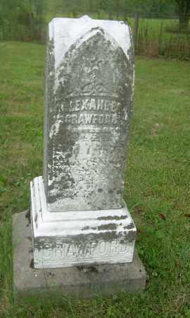 CRAWFORD, ALEXANDER - Carroll County, Ohio   ALEXANDER CRAWFORD - Ohio Gravestone Photos