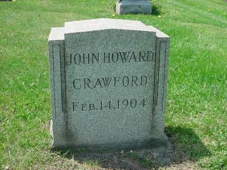 CRAWFORD, JOHN HOWARD - Carroll County, Ohio | JOHN HOWARD CRAWFORD - Ohio Gravestone Photos