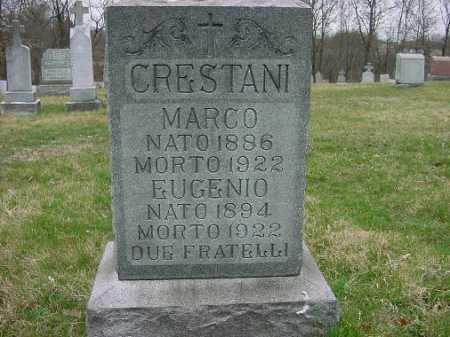 CRESTANI, MARCO - Carroll County, Ohio | MARCO CRESTANI - Ohio Gravestone Photos