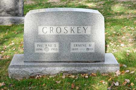 ORIN CROSKEY, ERMINE M. - Carroll County, Ohio | ERMINE M. ORIN CROSKEY - Ohio Gravestone Photos