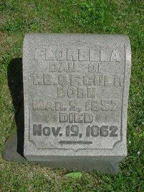 CULP, FLORELLA - Carroll County, Ohio | FLORELLA CULP - Ohio Gravestone Photos