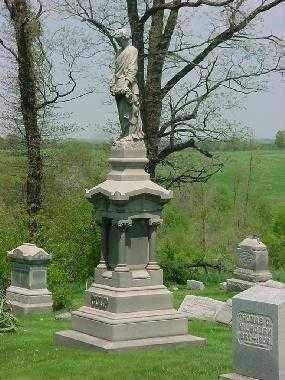 CULP, MONUMENT - Carroll County, Ohio   MONUMENT CULP - Ohio Gravestone Photos