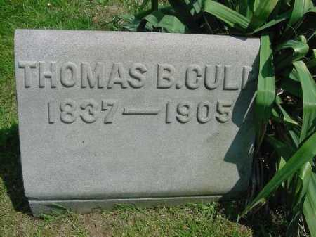 CULP, THOMAS B. - Carroll County, Ohio | THOMAS B. CULP - Ohio Gravestone Photos