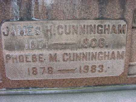 CUMMINGHAM, JAMES H. - Carroll County, Ohio | JAMES H. CUMMINGHAM - Ohio Gravestone Photos