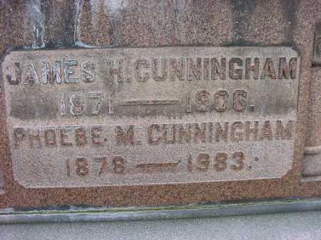 CUMMINGHAM, PHOEBE M. - Carroll County, Ohio | PHOEBE M. CUMMINGHAM - Ohio Gravestone Photos