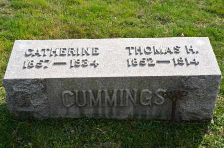 COLEMAN CUMMINGS, CATHERINE - Carroll County, Ohio | CATHERINE COLEMAN CUMMINGS - Ohio Gravestone Photos