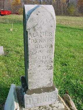 DENNIS, JAMES - Carroll County, Ohio | JAMES DENNIS - Ohio Gravestone Photos