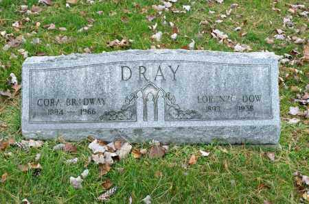 DRAY, LORENZO DOW - Carroll County, Ohio | LORENZO DOW DRAY - Ohio Gravestone Photos