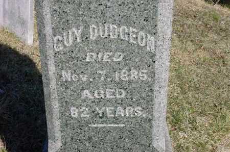 DUDGEON, GUY - Carroll County, Ohio | GUY DUDGEON - Ohio Gravestone Photos