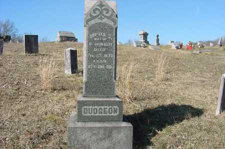 DUDGEON, MONUMENT - Carroll County, Ohio | MONUMENT DUDGEON - Ohio Gravestone Photos