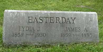 EASTERDAY, LYDIA J. - Carroll County, Ohio | LYDIA J. EASTERDAY - Ohio Gravestone Photos