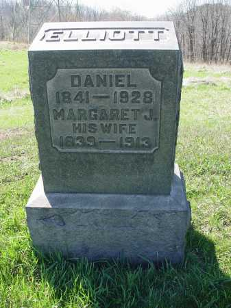 ALEXANDER ELLIOTT, MARGARET J. - Carroll County, Ohio | MARGARET J. ALEXANDER ELLIOTT - Ohio Gravestone Photos
