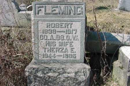 FLEMING, THERZA E. - Carroll County, Ohio | THERZA E. FLEMING - Ohio Gravestone Photos
