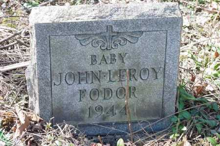 FODOR, JOHN LEROY - Carroll County, Ohio | JOHN LEROY FODOR - Ohio Gravestone Photos