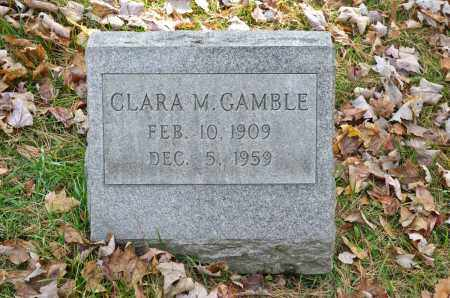 GAMBLE, CLARA M. - Carroll County, Ohio | CLARA M. GAMBLE - Ohio Gravestone Photos