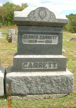 GARRETT, GEORGE - Carroll County, Ohio | GEORGE GARRETT - Ohio Gravestone Photos