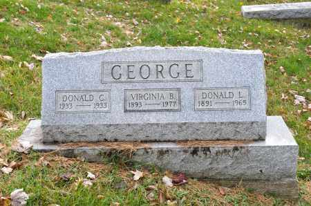 GEORGE, VIRGINIA B. - Carroll County, Ohio | VIRGINIA B. GEORGE - Ohio Gravestone Photos