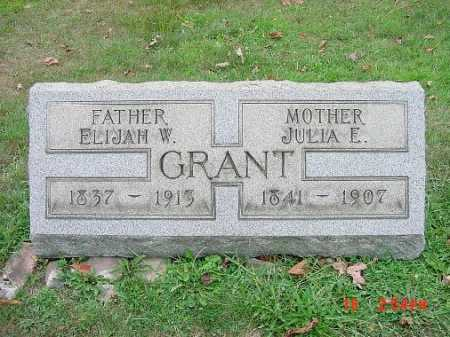WALTERS GRANT, JULIA E. - Carroll County, Ohio | JULIA E. WALTERS GRANT - Ohio Gravestone Photos