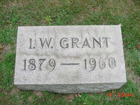GRANT, I.W. - Carroll County, Ohio | I.W. GRANT - Ohio Gravestone Photos