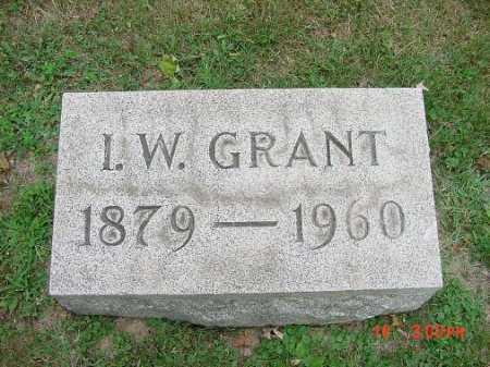 GRANT, I.W. - Carroll County, Ohio | I.W. GRANT - Ohio Gravestone Photos