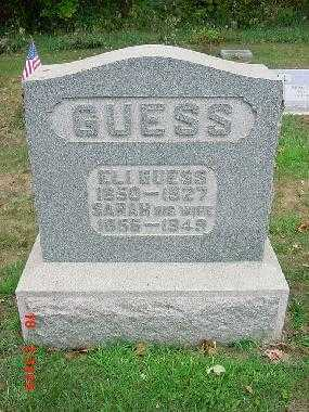 GUESS, ELI - Carroll County, Ohio | ELI GUESS - Ohio Gravestone Photos