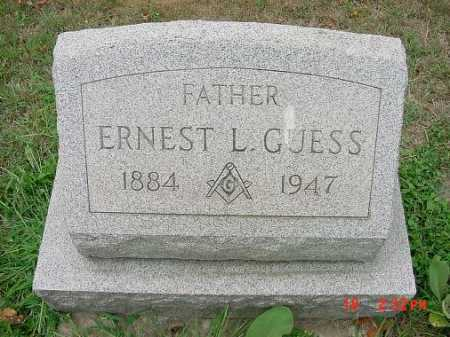 GUESS, ERNEST L. - Carroll County, Ohio | ERNEST L. GUESS - Ohio Gravestone Photos