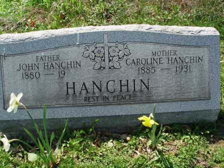 HANCHIN, CAROLINE - Carroll County, Ohio | CAROLINE HANCHIN - Ohio Gravestone Photos