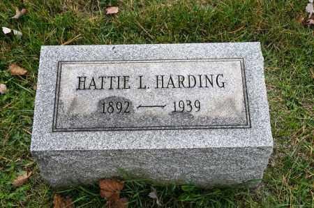 HARDING, HATTIE L. - Carroll County, Ohio | HATTIE L. HARDING - Ohio Gravestone Photos
