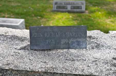 HARDING, JOHN RICHARD - Carroll County, Ohio | JOHN RICHARD HARDING - Ohio Gravestone Photos