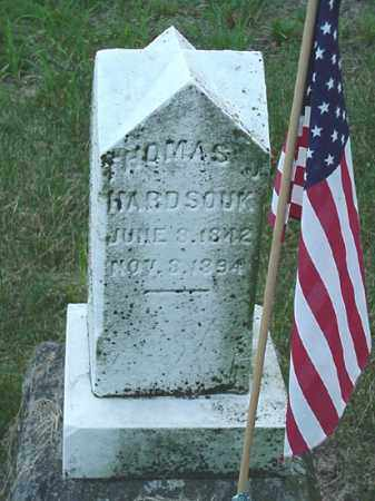 HARDSOUK, THOMAS J. - Carroll County, Ohio | THOMAS J. HARDSOUK - Ohio Gravestone Photos