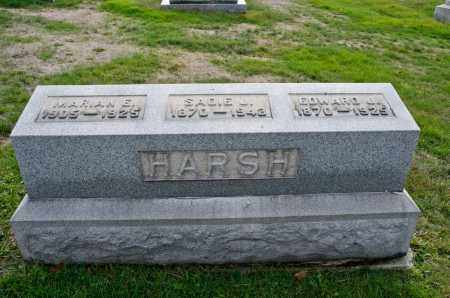 HARSH, SADIE - Carroll County, Ohio | SADIE HARSH - Ohio Gravestone Photos