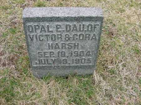 HARSH, OPAL E. - Carroll County, Ohio | OPAL E. HARSH - Ohio Gravestone Photos