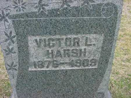 HARSH, VICTOR L. - Carroll County, Ohio | VICTOR L. HARSH - Ohio Gravestone Photos