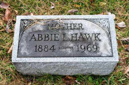 SLATES HAWK, ABBIE LUDELLO - Carroll County, Ohio | ABBIE LUDELLO SLATES HAWK - Ohio Gravestone Photos