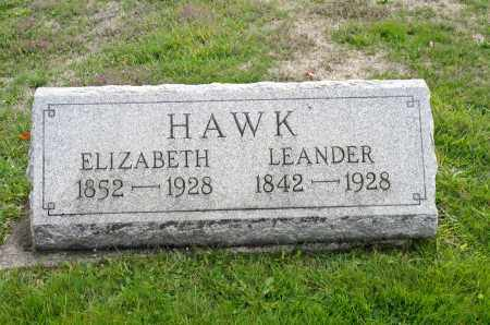 HAWK, LEANDER - Carroll County, Ohio | LEANDER HAWK - Ohio Gravestone Photos