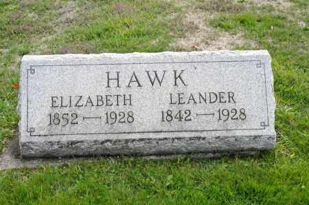 HAWK, ELIZABETH - Carroll County, Ohio | ELIZABETH HAWK - Ohio Gravestone Photos