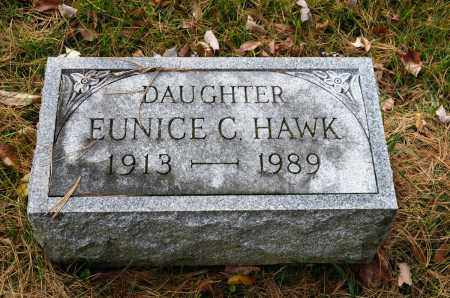 HAWK, EUNICE CELESTA - Carroll County, Ohio | EUNICE CELESTA HAWK - Ohio Gravestone Photos
