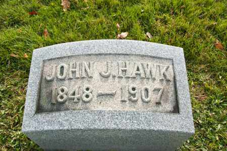 HAWK, JOHN J. - Carroll County, Ohio | JOHN J. HAWK - Ohio Gravestone Photos