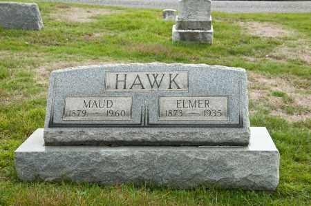 HAWK, ELMER - Carroll County, Ohio | ELMER HAWK - Ohio Gravestone Photos